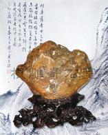 巴西彩釉石