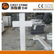 白色大理石十字架GME112