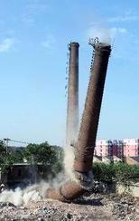 安康砖烟囱拆除施工方案