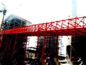 输煤桥架除锈刷油漆