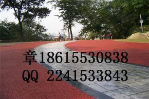 海绵城市建设之安徽蚌埠透水混凝土路面、地面铺装材料
