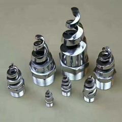 厂家生产直销各种不锈钢螺旋喷头,不锈钢喷头,螺旋喷头