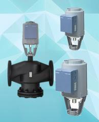 西门子电动温控阀流量调节阀水温控制阀