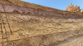 貴州六盤水彩色夯土墻材料施工批發夯土墻施工工藝