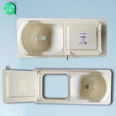 农村厕所改造蹲便器 新型旱厕便器
