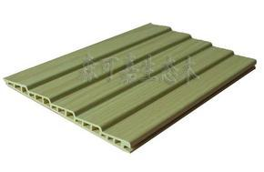 生态木厂家直销塑木仿木二半圆波浪长城板环保节能首选