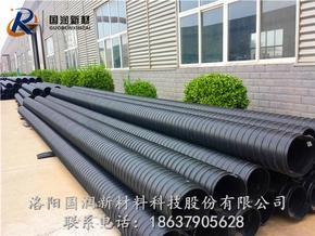 8203;HDPE钢带增强螺旋波纹管-