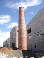 白银砖烟囱新建-砖烟囱建筑设计
