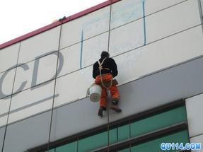杭州市大厦玻璃幕墙清洗