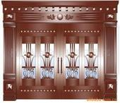 仿铜古门厂家直接供应安装