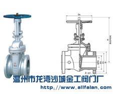 供应ANSI闸阀,碳钢闸阀,球阀,排渣阀,截止阀