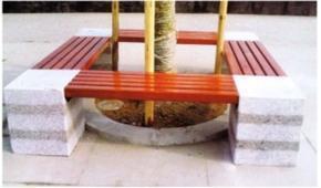围树椅/公园椅/休闲座椅/善群景观