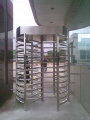 供应西安安全机密场所专用人行通道闸机全高旋转门