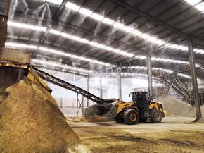 工业厂房建设除尘智能化高压喷雾降尘设备