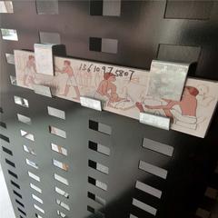 冲孔板货架 挂瓷砖展示架厂家 沈阳市瓷砖陈列架