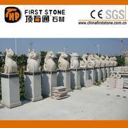 铜首石雕刻景观石GGQ055
