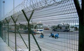 长沙卖机场铁路护栏,Y型安全防御网,刺绳,铁藜棘价格优
