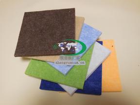 聚酯纤维吸音材料_多彩艺术装饰吸音板_幼儿园环保纤维吸音板