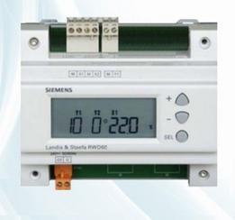 調試建立西門子恒溫恒濕控制系統RWD