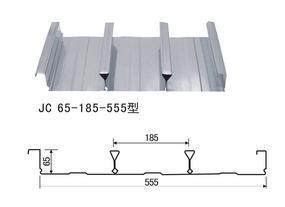 YXB65-185-555型闭口楼承板规格技术参数
