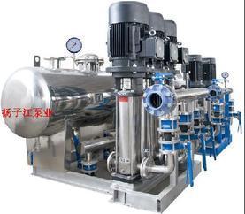 给排水设备:全自动变频恒压供水设备