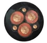 矿用通信电缆MHYV 1X4X7/0.28