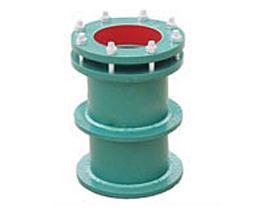 钢制柔性防水套管主要尺寸、重量表