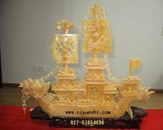 玉雕龙船 武汉工艺品