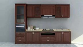 供应全铝家具全铝橱柜定制铝合金橱柜