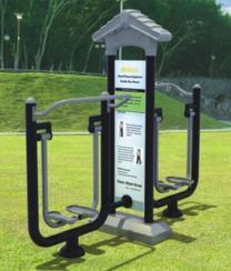 健身路径漫步机安装