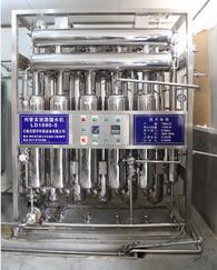 药用纯化水设备,浓稀配罐,双管板多效蒸馏水机