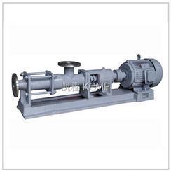 天津 G型不锈钢螺杆泵 输送高粘度介质螺杆泵
