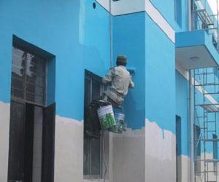 大同厂房内外墙粉刷涂料翻新