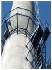 烟囱螺旋爬梯制作安装