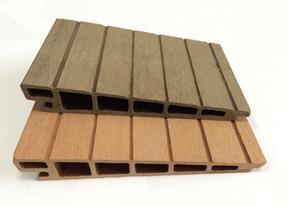 木塑斜面板,户外装饰板165x28mm