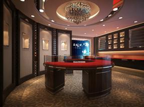 珠宝店铺设计  玉缘阁珠宝  柜台设计 【艺比意珠宝店设计—专卖店服务商】