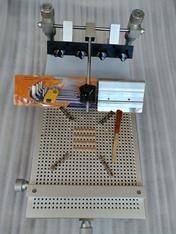 丝印刷台精密手印台SMT手印台手动印刷机pcb板锡膏印刷机