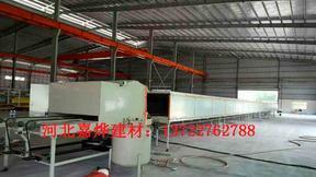 彩石金屬瓦生產線的組成 多彩蛭石瓦生產設備