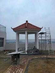 东莞大理石漆凉亭装饰工程案例