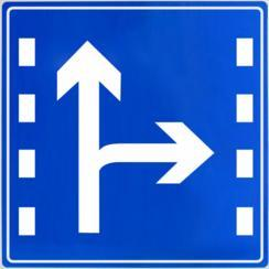 bzp-001蓝底白字反光标志牌道路施工牌