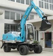 挖掘机厂家报价、轮胎式小型挖掘机