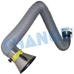 湖南长沙车间用排烟管道、工人焊接的烟怎么吸走?向柔性吸气臂不锈钢内支架厂家长济CE-NXB