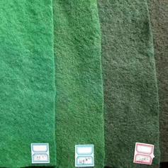 绿色土工布厂家路奥,防尘可回收