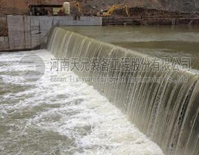 天元装备气动闸门品牌气盾坝设计安装 气盾闸坝生产