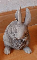 石雕兔子/石雕工艺 GAB494