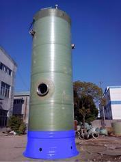 GRP玻璃钢 地埋式 污水 一体化预制泵站