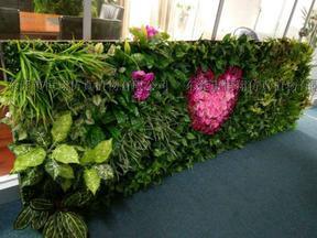 厂家供应仿真植物墙   垂直绿化墙