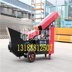 二次结构浇筑泵价格 流速快的微型泵 输送扬长30米水平80米的微型泵