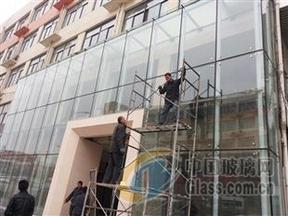 乌鲁木齐汽车展厅玻璃,超大玻璃,15mm19mm