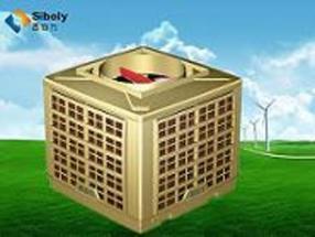 供应西伯力环保空调蒸发式冷气机湿帘空调